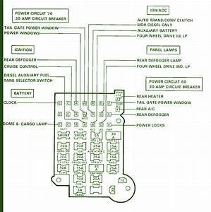 89 Chevrolet Suburban Fuse Box Diagram  U2013 Circuit Wiring