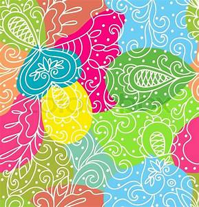 Abstract bright colored pattern Stock Vector Colourbox