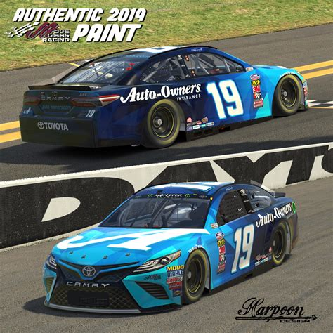 Martin Owners by 2019 Jgr Authentic Martin Truex Jr Auto Owners Camry By