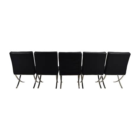 80 black leather conference room chair set chairs