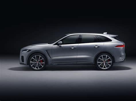 2019 jaguar f pace svr jaguar unveils f pace svr