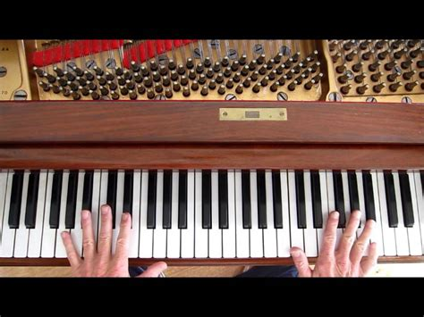 """Country Style Piano, """"last Date"""", Piano Tutorial, 7"""