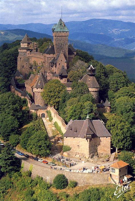 haut koenigsburg castle alsace france places where i ve