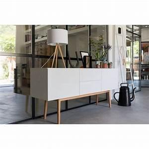 Buffet Scandinave Vintage : bahut scandinave 2 portes laqu blanc high wood zuiver ~ Teatrodelosmanantiales.com Idées de Décoration