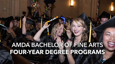amda bachelor  fine arts  year degree programs
