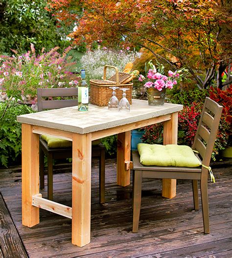 diy outdoor table   build easily home