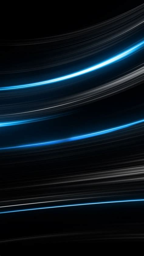 wallpaper lines black blue  os