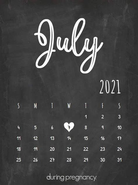 How Far Along Am I if My Due Date Is July 7 2021