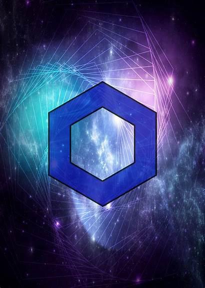 Chainlink Crypto Displate Artwork