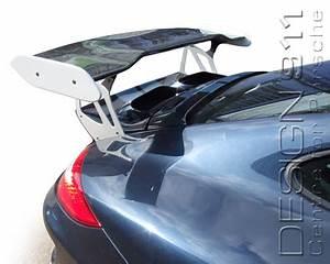 Side Scoops By Air Design Rear Spoiler Gt3 Rs Porsche 997 Models 99751220003