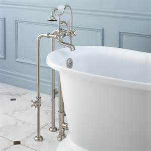 tub faucet water freestanding telephone tub faucet supplies valves and
