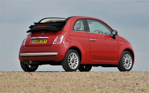 New Fiat 500 C Widescreen Exotic Car Image 16 Of 48
