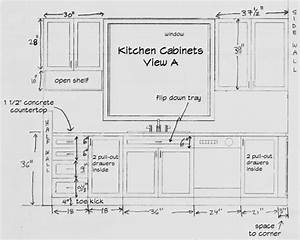 Standard Kitchen Cabinet Height Kitchen Cabinet Sizes