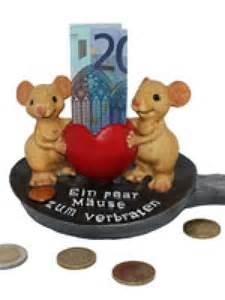 beliebtes hochzeitsgeschenk geldgeschenk mäuse zum verbraten basteln