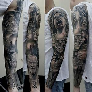 Tattoo Ganzer Arm Frau : beste schwarz wei tattoos tattoo lass deine tattoos bewerten ~ Frokenaadalensverden.com Haus und Dekorationen
