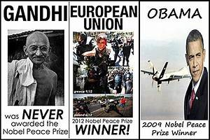 The Nobel Peace Prize Is Meaningless Now That Obama Has One