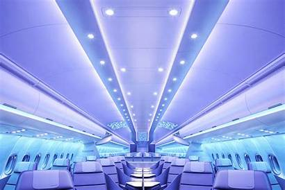 Airbus Airspace Airplane Cabin Lighting Mood Animation