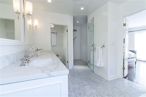 2 high end bathrooms remodeled in west