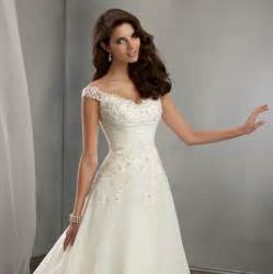 a line wedding dresses with sleeves a line cap sleeves lace wedding dress uniqistic