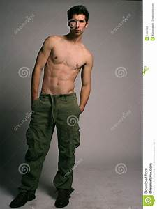 Attractive Male With Toned Body Stock Photo