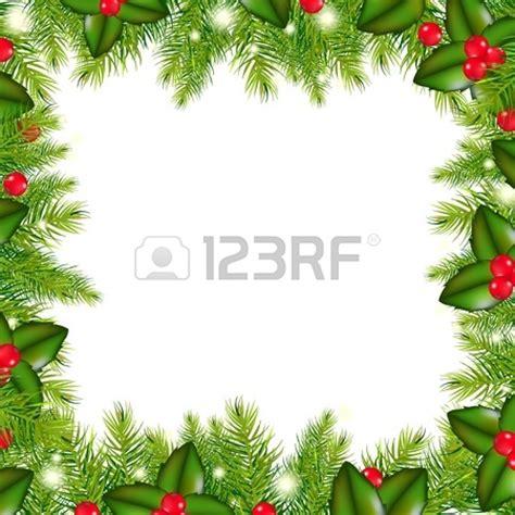 christmas wreath border clip art clipground