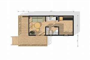 cuisine studio de jardin sans permis de construire plan With maison de 100m2 plan 11 maison modulaire elegance de 20m2 40m2 50m2 60m2