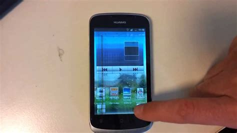 huawei ascend  display flickering jumping problem