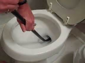How To Unclog A Toilet Auger A Toilet  Easily!  How To
