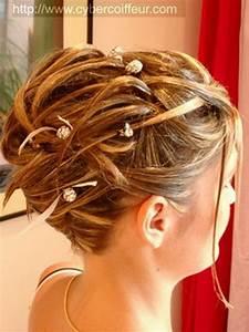 Chignon Cheveux Mi Long : chignon cheveux mi long mariage ~ Melissatoandfro.com Idées de Décoration