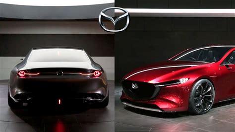 mazda kai concept mazda vision coupe tokyo motor show