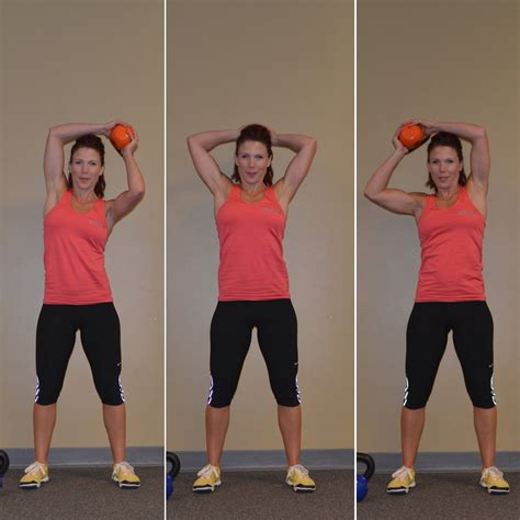 workout halo kettlebell basic move exercises weight moves workouts loss popsugar fitness calories bell ball burn lose shoulder arm mobility