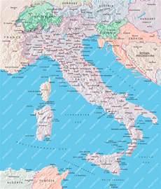 Switzerland Italy Map