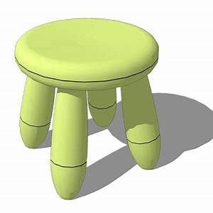 Ikea Mammut Stuhl : ikea mammut tables chairs 3d model formfonts 3d models textures ~ Watch28wear.com Haus und Dekorationen
