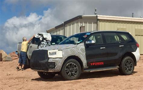 ford ranger raptor  bronco prototypes