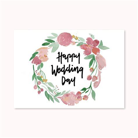 jual 1 buah greeting card kartu ucapan happy wedding day