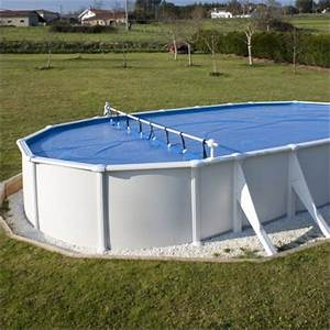 bache piscine ovale hors sol With enrouleur bache piscine hors sol ovale