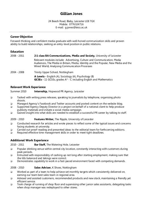 10 different types of resume formats writing resume sle