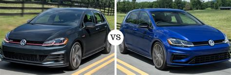 Gti Vs Golf R Engine by What S The Difference Between The 2018 Volkswagen Golf Gti