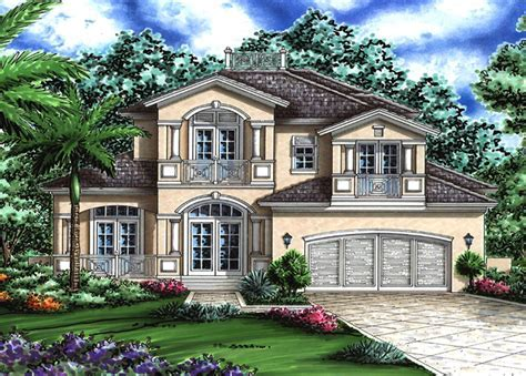 Beautiful Florida House Plan   76006GW   Architectural