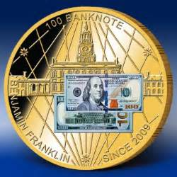 Benjamin Franklin $ 100 Banknote - * Tokens * – Numista