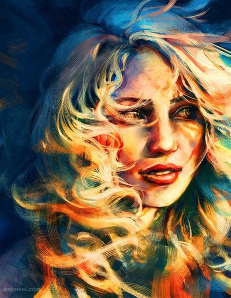 25 Beautiful Colorful Digital Paintings And Illustrations
