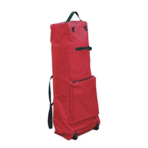 christmas tree storage bag with wheels heavy duty 56 quot x22