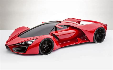 the f80 concept sports car based on ferrari s laferrari model