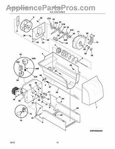 Parts For Frigidaire Glhs36eeb5  Ice Container Parts