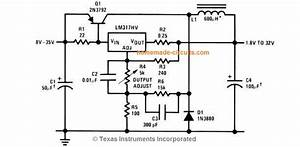 Lm317 Variable Switch Mode Power Supply  Smps