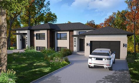 modern duplex style house plan  paris