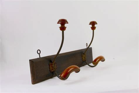 french country coat hook wooden farmhouse hat rack   etsy wooden coat hooks wooden