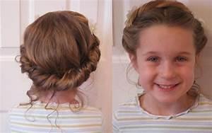 Coiffure Facile Pour Petite Fille : une coiffure simple pour petite fille coiffure simple et facile ~ Nature-et-papiers.com Idées de Décoration
