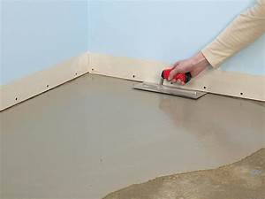 how to install subflooring for a wood or concrete floor With how to put hardwood floor on concrete