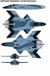 Northrop Grumman FA-40 Golden Eagle VMA-214 by bagera3005 ...